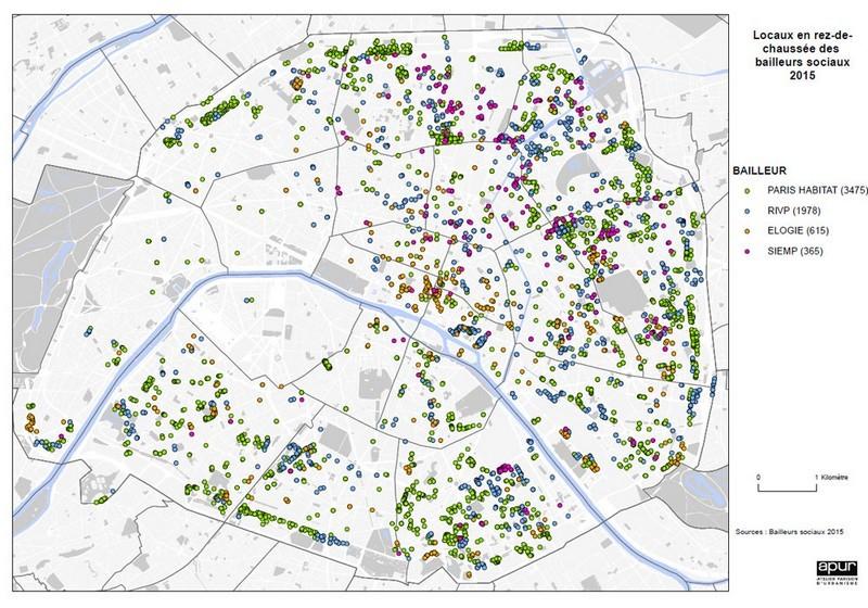 Carte-pieds-immeubles-HLM-Paris