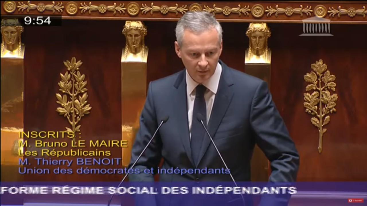 Bruno Le Maire RSI